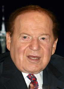 Sheldon Adelson casino profits down 34%